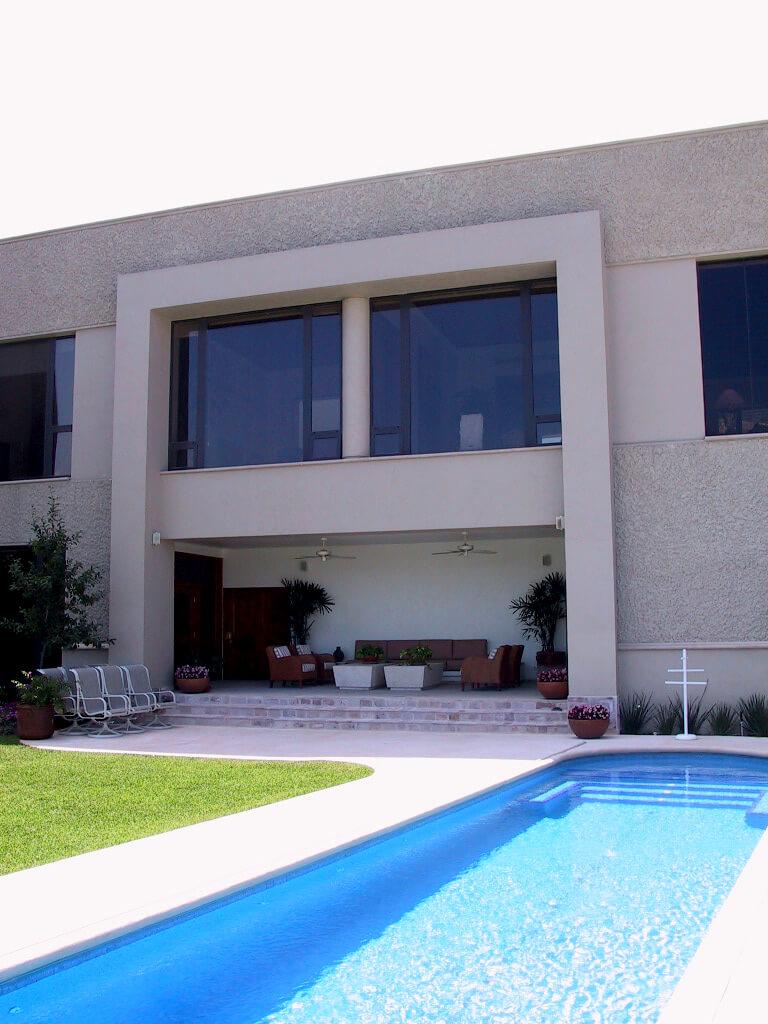 Exterior de Casa Gamboa