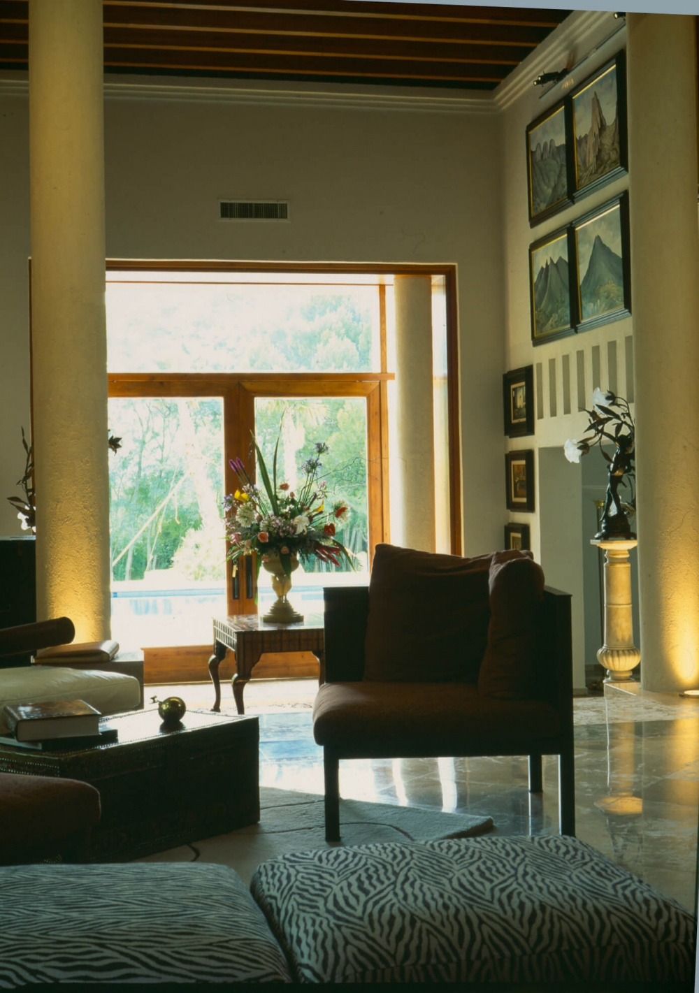 Interior de Casa La Escondida
