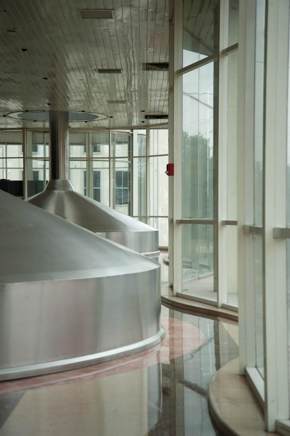 Interior de Cervecería Cuauhtémoc Moctezuma
