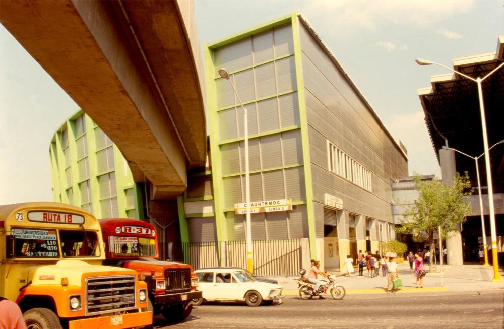 Exterior de Estación Cuauhtémoc