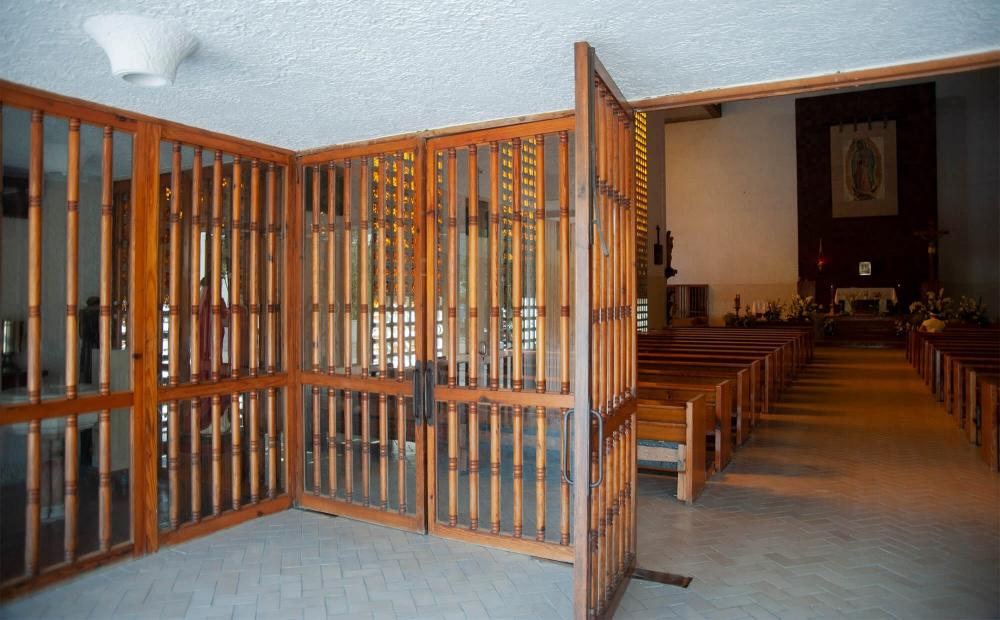 Interior de Iglesia Guadalupe