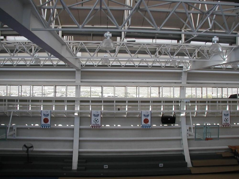 Estructura de Unidad Deportiva Instituto Brillamont