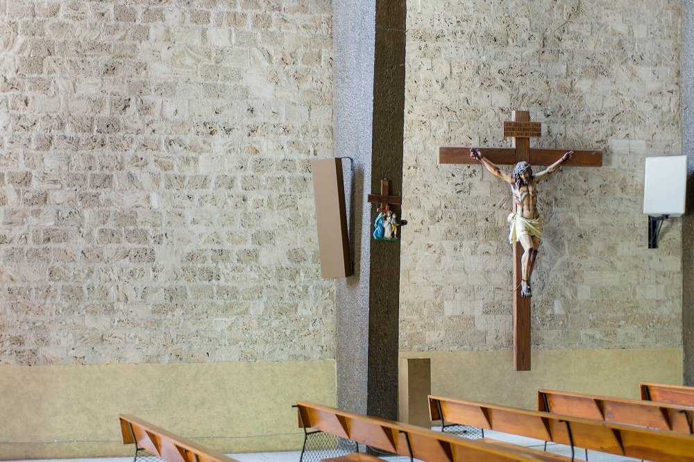 Interior de Templo Padre Nuestro