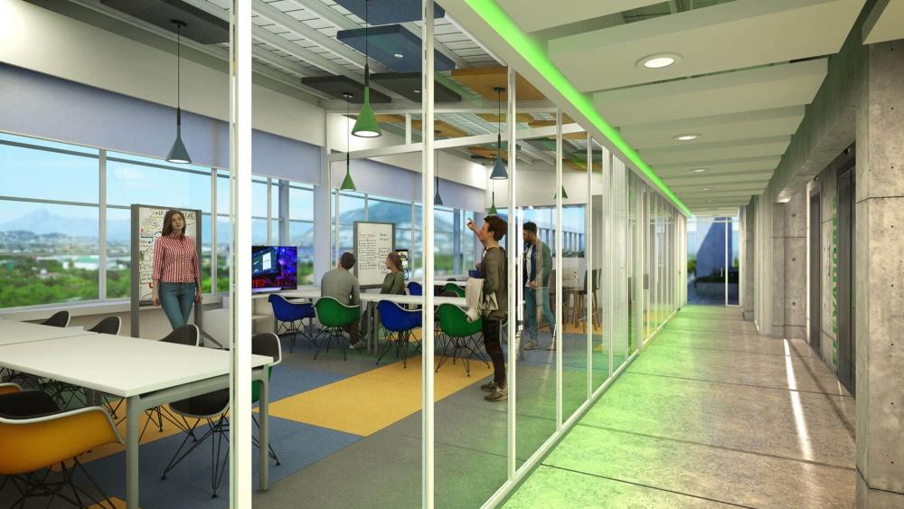 Interior de Torre Verde - El Patriota